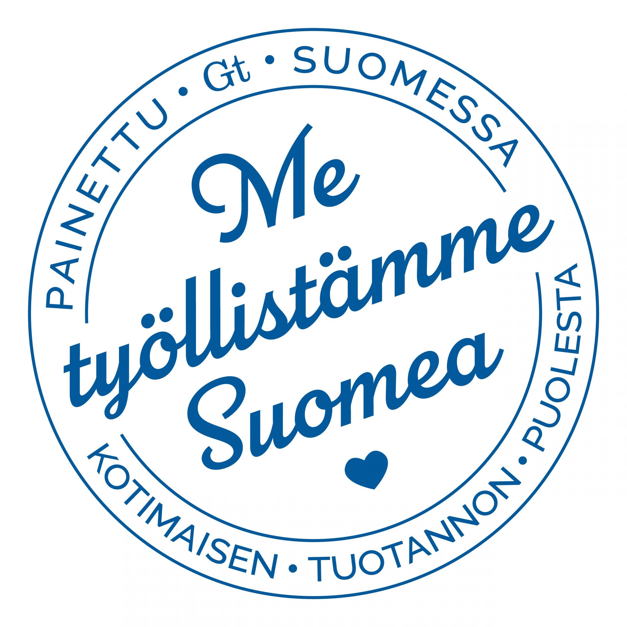 Työllistämme Suomea logo